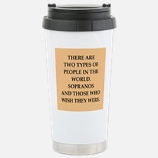 soprano Stainless Steel Travel Mug