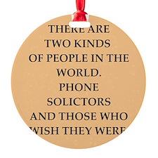 solicitor Ornament