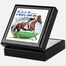 Paint Horse Rocks Keepsake Box