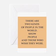 shoe people Greeting Card