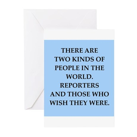 reporter Greeting Cards (Pk of 10)