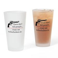 Funny War Drinking Glass