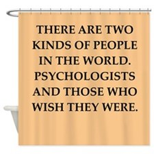 psycology Shower Curtain