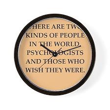 psycology Wall Clock