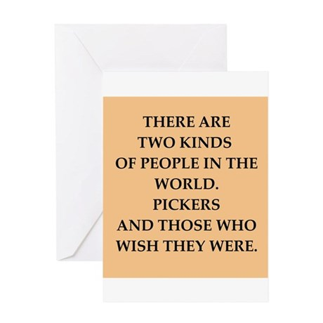 picker Greeting Card