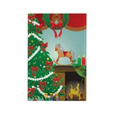 Happy Holidays Rectangle Magnet
