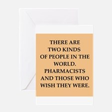 pharmacist Greeting Card