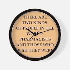pharmacist Wall Clock