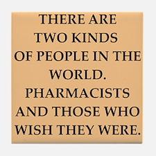 pharmacist Tile Coaster