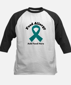 Personalized Food Allergy Kids Baseball Jersey
