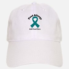 Personalized Food Allergy Baseball Baseball Cap