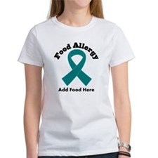 Personalized Food Allergy Tee