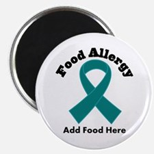"""Personalized Food Allergy 2.25"""" Magnet (100 pack)"""