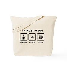Canoe Sprint Tote Bag