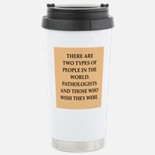 pathology Travel Mug