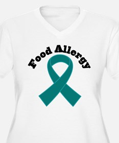 Food Allergy Teal Ribbon T-Shirt