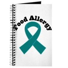 Food Allergy Teal Ribbon Journal