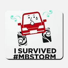 I survived #mbstorm Mousepad