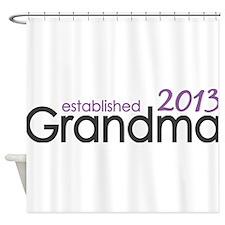 New Grandma Est 2013 Shower Curtain