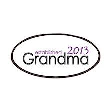 New Grandma Est 2013 Patches