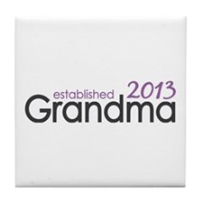 New Grandma Est 2013 Tile Coaster