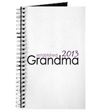 New Grandma Est 2013 Journal