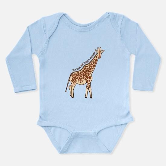 New Heights Giraffe Onesie Romper Suit