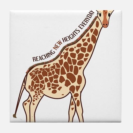 New Heights Giraffe Tile Coaster