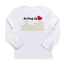 Windy City Chicago Long Sleeve Infant T-Shirt