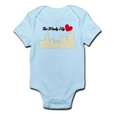 Windy City Chicago Infant Bodysuit