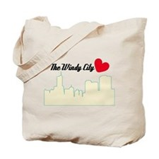 Windy City Chicago Tote Bag