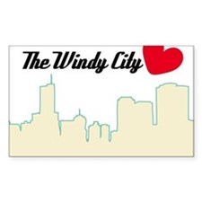 Windy City Chicago Decal