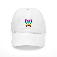 Rainbow Butterfly Baseball Cap