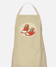 Running Shoes Apron