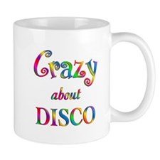 Crazy About Disco Mug