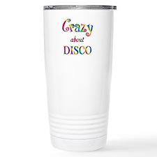 Crazy About Disco Travel Mug