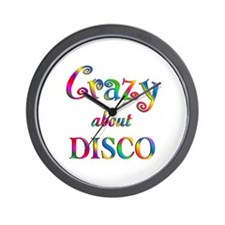 Crazy About Disco Wall Clock