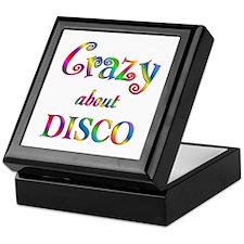 Crazy About Disco Keepsake Box