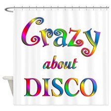 Crazy About Disco Shower Curtain