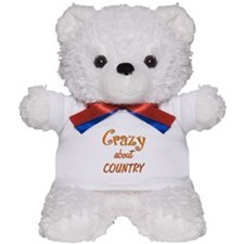 Crazy About Country Teddy Bear