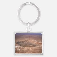 Aerial view of Meteor Crater, Arizona - Landscape