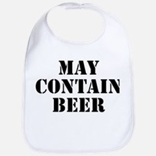 May Contain Beer Bib