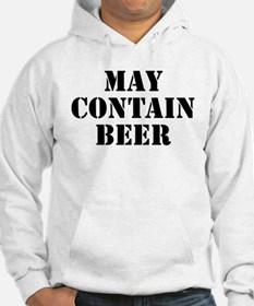 May Contain Beer Hoodie