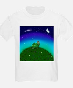 Turtle Moon and Stars T-Shirt