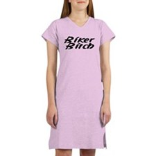 Biker Couple Women's Nightshirt