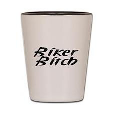 Biker Couple Shot Glass