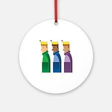 Los Reyes Magos Ornament (Round)