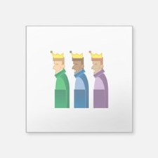 "Los Reyes Magos Square Sticker 3"" x 3"""