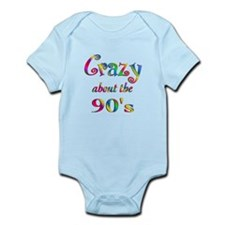 Crazy About The 90s Infant Bodysuit