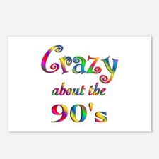 Crazy About The 90s Postcards (Package of 8)